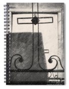 Crosses Voided Wrought Iron _ Nola Spiral Notebook