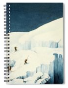 Crossing A Ravine, From A Narrative Spiral Notebook