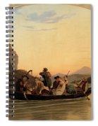 Crossing At Schreckenstein Spiral Notebook