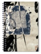 Crossing Indigo Spiral Notebook