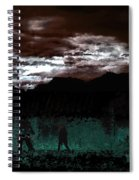 Crossing Moon Spiral Notebook