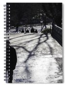 Crossing Over - Central Park - Nyc Spiral Notebook