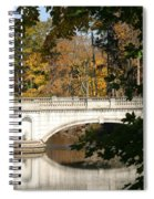 Crossing Over Into Autumn Spiral Notebook