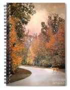 Crossing Over Spiral Notebook