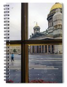 Crossing Over St. Basil Cathedral Spiral Notebook