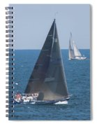 Crossing Paths Spiral Notebook