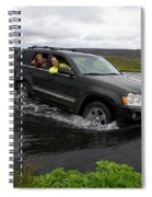 Crossing River Spiral Notebook