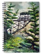 Crossing The Gap Spiral Notebook