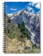 Crossing The Himalayas Spiral Notebook