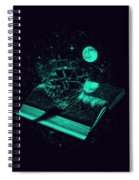 Crossing The Rough Sea Of Knowledge Spiral Notebook