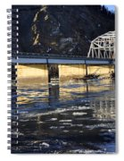 Crossing The Tanana River Spiral Notebook