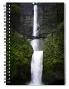 Crossing The Water Fall Spiral Notebook
