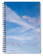 Crossroad In The Sky Spiral Notebook