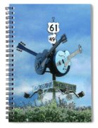 Crossroads In Clarksdale Spiral Notebook