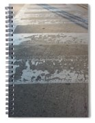 Crosswalk Shadow 1 Spiral Notebook
