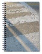 Crosswalk Shadow 2 Spiral Notebook