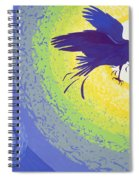 Crow, 1999 Gouache On Paper Spiral Notebook
