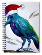 Crow Ho Ho Spiral Notebook