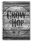 Crow Hop Brewing Spiral Notebook