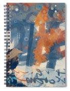 Crow Snow Spiral Notebook