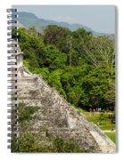 Crowd At Palenque Spiral Notebook