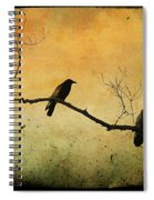 Crowded Branch Spiral Notebook