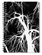 Crowding White Spiral Notebook