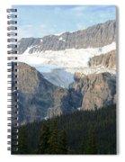 Crowfoot Glacier Spiral Notebook