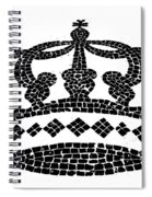 Crown Graphic Design Spiral Notebook