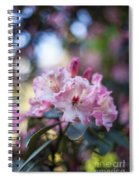 Crown Of Rhodies Spiral Notebook