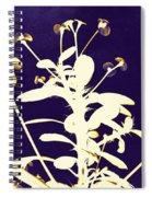 Crown Of Thorns - Indigo Spiral Notebook