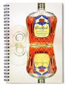 Crown Royal 3 Spiral Notebook