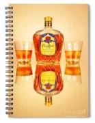 Crown Royal 4 Spiral Notebook