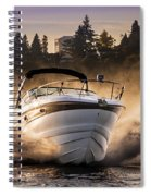 Crownline Boat Spiral Notebook