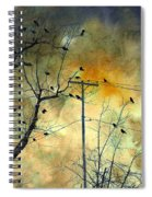 Crows Colors Spiral Notebook
