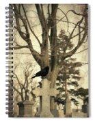 Crow's Cross Spiral Notebook