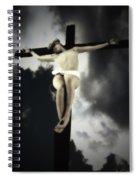 Crucified Christ Spiral Notebook