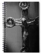 Crucifix Illuminated Spiral Notebook