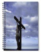Crucifix In The Light Spiral Notebook