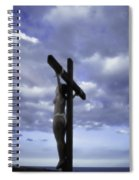 Crucifix In The Light Spiral Notebook