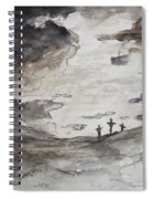Crucifixtion Spiral Notebook