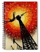 Crude Awakening Spiral Notebook