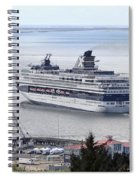 Cruising Out Of Astoria Spiral Notebook