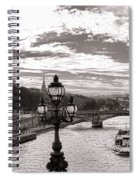 Cruise On The Seine Spiral Notebook