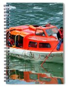 Cruise Ship Tender Boat  Spiral Notebook