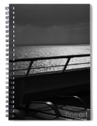 Cruisin In Black And White Spiral Notebook