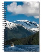 Cruising Alaska Spiral Notebook