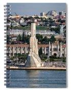 Cruising Along To Lisbon Spiral Notebook