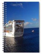 Cruising Around Spiral Notebook