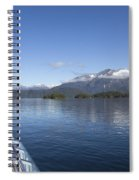Cruising Inn Doubtful Sound South Island New Zealand Spiral Notebook